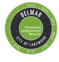 Sustainable Belmar Logo with Dates