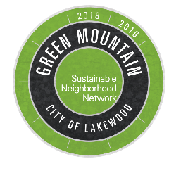 Sustainable Green Mountain Logo with Dates